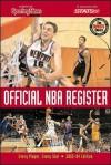 Official NBA Register 2003-2004 - Ron Smith, John Gardella