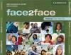 Face2face Advanced Class Audio CDs (3) - Gillie Cunningham, Jan Bell