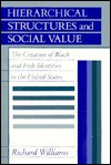 Hierarchical Structures and Social Value: The Creation of Black and Irish Identities in the United States - Richard Williams