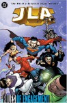 JLA, Vol. 13: Rules of Engagement - Joe Kelly, Rick Veitch, Doug Mahnke, Darryl Banks, Wayne Faucher, Tom Nguyen, Duncan Rouleau, Aaron Sowd