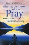 When You Don't Know What to Pray: How to Talk to God about Anything - Linda Evans Shepherd