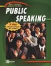 Professional Communication Series: Public Speaking, Student Edition - Glencoe/McGraw-Hill