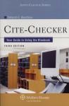 Cite-Checker: Your Guide to Using the Bluebook - Deborah E. Bouchoux