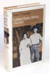 Letters from Africa, 1914-1931 - Isak Dinesen, Isak Dinesen, Frans Lasson, Anne Born