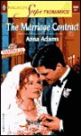 The Marriage Contract - Anna Adams