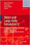 Direct and Large-Eddy Simulation V - Rainer Friedrich, Bernard Geurts, Olivier Métais