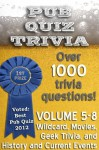 Pub Quiz Trivia: Volumes 5-8 (Pub Quiz Trivia Collections) - Bryan Young