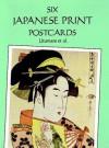 Six Japanese Print Postcards - Utamaro, Utamaro, Francis A. Davis
