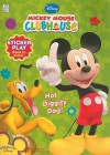 Disney Mickey's Clubhouse: Hot Diggity Dog! Sticker Play Book to Color (Disney Mickey Mouse Clubhouse) - Dalmatian Press