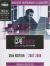 Cpa Ready Comprehensive Cpa Exam Review 36th Edition 2007 2008: Business Environment & Concepts (Cpa Comprehensive Exam Review Business Environment & ... Review Business Environment And Concepts) - Nathan M. Bisk