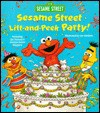 Sesame Street Lift-And-peek Party! (Great Big Board Book) - Joe Mathieu, Joseph Mathieu, Jim Henson