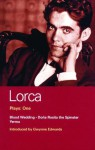 Lorca Plays: One: Blood Wedding, Doña Rosita the Spinster, and Yerma - Federico García Lorca, Gwynne Edwards, Peter Luke