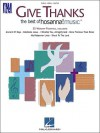 Give Thanks - The Best of Hosanna! Music: 25 Worship Favorites - Hal Leonard Publishing Company