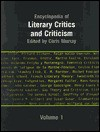 Encyclopedia of Literary Critics and Criticism - Chris Murray