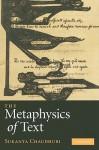 The Metaphysics of Text - Sukanta Chaudhuri