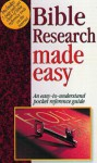 Bible Research Made Easy - Mark Water