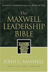 The Maxwell Leadership Bible: Lessons in Leadership from the Word of God-New King James Version - John C. Maxwell, Anonymous