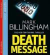Death Message - Mark Billingham, Robert Glenister