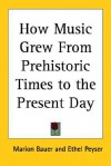 How Music Grew from Prehistoric Times to the Present Day - Marion Dane Bauer, Ethel Peyser