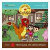 Let's Go Guang! Chinese for Children: Meet Guang, the Chinese Dragon, Vol. 1 (Hardback with audio CD) (Let's Go Guang, Episode 1) - aha!Chinese, Inc.