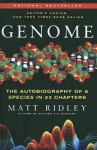 Genome: The Autobiography of a Species in 23 Chapters (Turtleback) - Matt Ridley