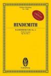 Kammermusik No. 4, Op. 36, No. 3: Violin Concerto Study Score - Paul Hindemith