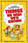 Things We Wish We'd Known - Bill Waring, Michael Card