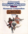 Monstrous Compendium: Greyhawk Adventures (Advanced Dungeons and Dragons, Appendix) - TSR Inc.