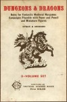 Dungeons & Dragons: Rules for Fantastic Medieval Wargames Campaigns Playable with Paper and Pencil and Miniature Figures - Gary Gygax, Dave Arneson