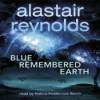 Blue Remembered Earth (Poseidon's Children, #1) - Alastair Reynolds, Holdbrook-Smith, Kobna
