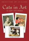 Cats in Art: 16 Art Stickers - Carol Belanger Grafton
