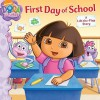 First Day of School: A Lift-the-Flap Story - Jorge Aguirre, Victoria Miller