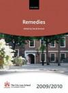 Remedies 2009-2010: 2009 Edition - David Emmet