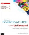 Microsoft PowerPoint 2010 on Demand - Steve Johnson, Perspection Inc.