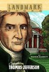 Meet Thomas Jefferson (Landmark Books) - Marvin Barrett, Pat Fogarty