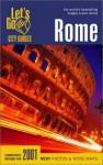 Let's Go Rome 2001 - Let's Go Inc.