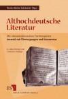 Althochdeutsche Literatur - Horst D. Schlosser, Erika Tittmann