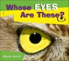 Whose Eyes Are These? - Wayne Lynch
