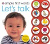 Simple First Words: Let's Talk - Roger Priddy, Robert Tainsh