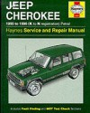 Jeep Cherokee Service and Repair Manual - Bob Henderson, A.K. Legg