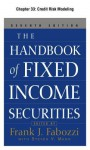 The Handbook of Fixed Income Securities, Chapter 33 - Credit Risk Modeling - Frank J. Fabozzi