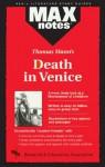 Death in Venice (MAXNotes Literature Guides) - Boria Sax, Thomas Mann, English Literature Study Guides
