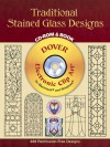 Traditional Stained Glass Designs CD-ROM and Book - Dover Publications Inc.