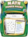 Math Power Packs, Grade 1: Reproducible Homework Packets - Frank Schaffer Publications, Frank Schaffer Publications