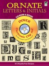 Ornate Letters and Initials CD-ROM and Book - Dover Publications Inc.