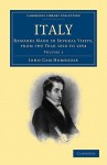 Italy 2 Volume Paperback Set: Volume Set: Remarks Made in Several Visits, from the Year 1816 to 1854 - John Cam Hobhouse, Pennant