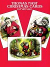 Thomas Nast Christmas Postcards in Full Color: 24 Ready-to-Mail Postcards - Thomas Nast