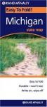 Rand McNally Easy To Fold: Michigan (Laminated) (Rand McNally Easyfinder) - Rand McNally