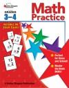Math Practice, Grades 3 - 4 - Carson-Dellosa Publishing, Carson-Dellosa Publishing