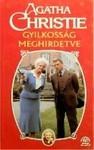 Gyilkosság meghirdetve - Ádám Réz, Agatha Christie